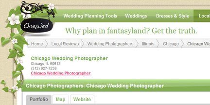 chicago wedding photographer reviews onewed