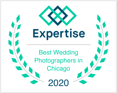 Chicago Wedding Engagement Photographer Gia Photos Named Best by Expertise 2020